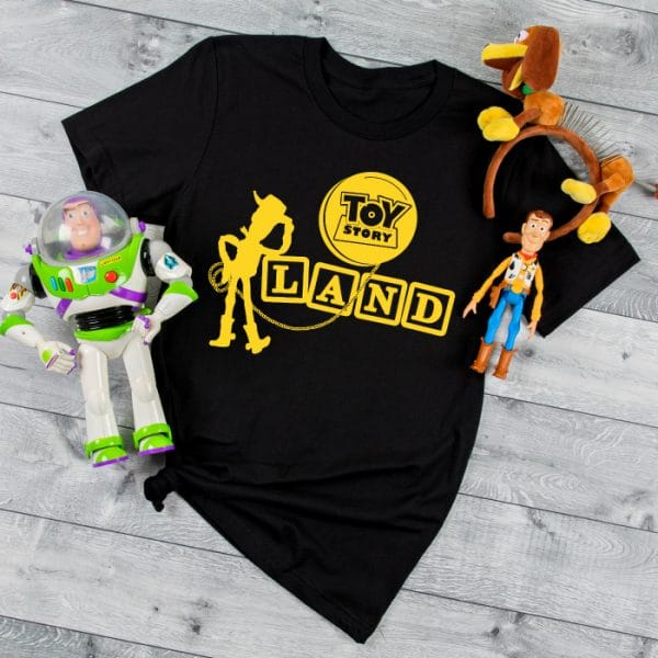 Toy Story Land SVG File - Toy Story SVG Bundle