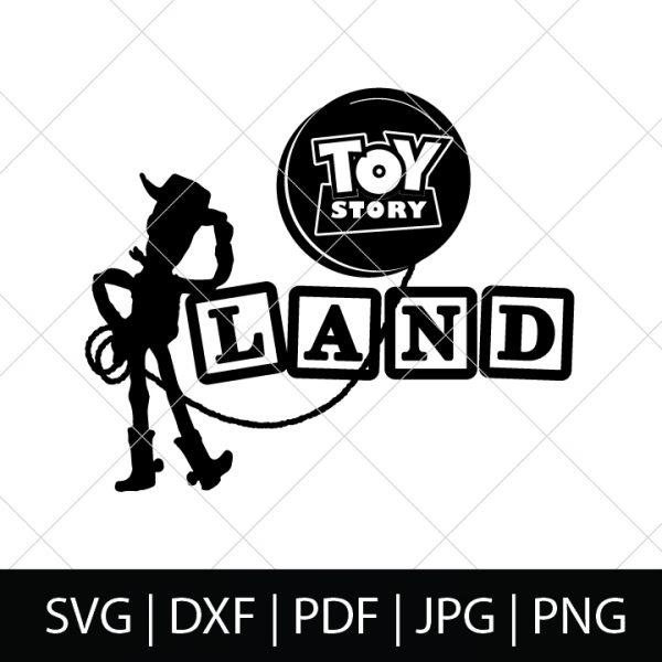 Toy Story Land SVG File - Toy Story SVG Bundle
