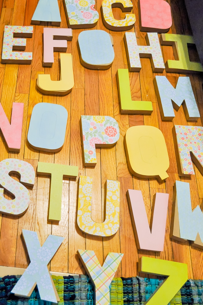 HOW TO MAKE DIY WALL LETTERS