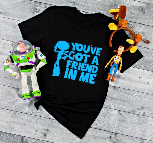 You've Got a Friend in Me SVG Bundle 1 - Toy Story Cut Files for DIY Disney Group Shirts