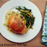 Slow Cooker Chicken Prosciutto Roll Ups