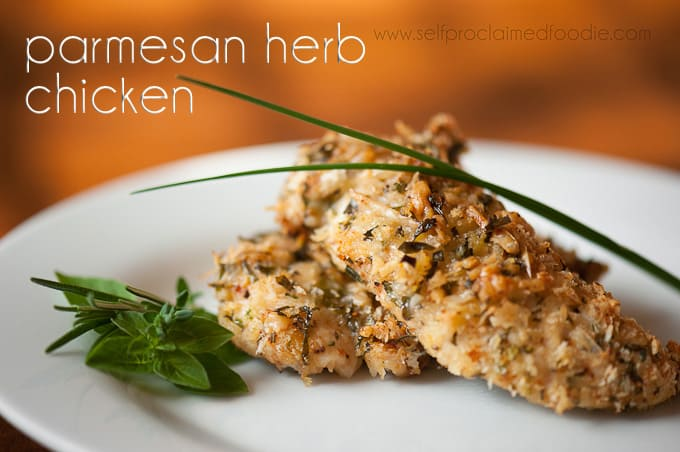 Parmesan Herb Chicken