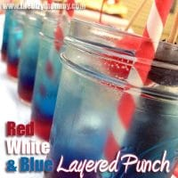 Red, white and blue punch recipe – Great for kids!