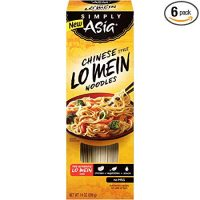 Simply Asia Chinese Style Lo Mein Noodles, 14 oz (Pack of 6)