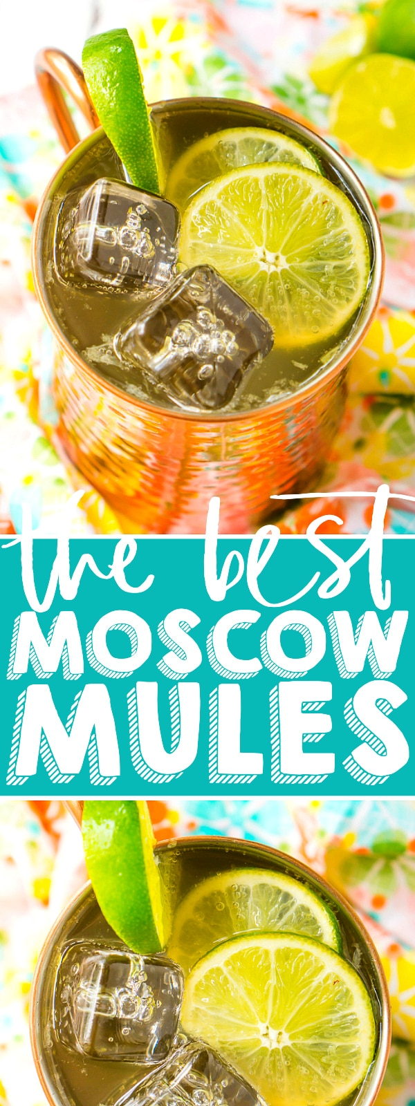 Learn how to make a classic Moscow Mule with only three ingredients for the perfect summer cocktail that is sweet, tangy, and just a little bit spicy! Refreshing and so, so easy!| THE LOVE NERDS #cocktailrecipe #summerdrinks #moscowmulerecipe