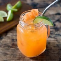 Carrot Moscow Mule Cocktail