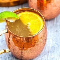 French Mule Cocktail