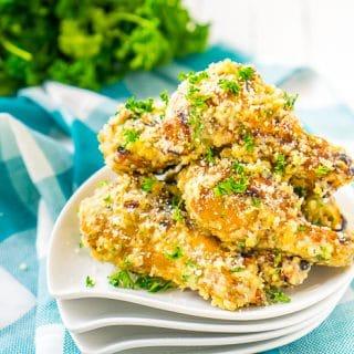 Garlic Parmesan Chicken Wings Sauce