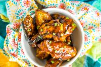 This sweet and smokey Honey BBQ Chicken Wings sauce will become an instant favorite for everyone in your family! Every single bite is packed with big flavor with the tiniest hint of some spice!