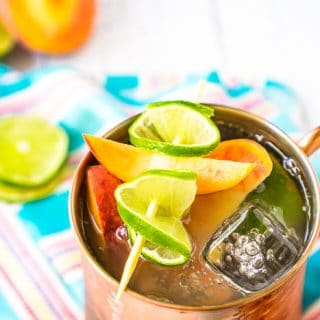 Tasty Peach Moscow Mule Recipe
