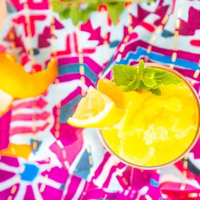 Tropical Rum Punch Slushies