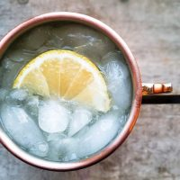 The Best Low Calorie Limoncello Moscow Mule