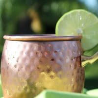 Winey Moscow Mule Cocktail