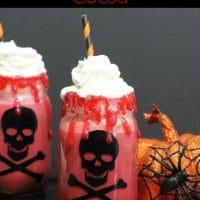Bloody Red Velvet Cocoa- Halloween Treat