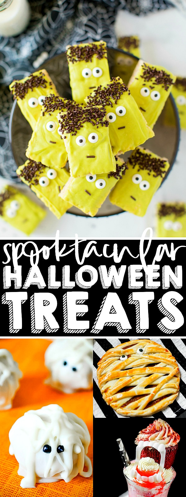 The Ultimate List of SPOOKTACULAR Halloween Treats! From cupcakes and cookies to truffles to pies, we have you covered with everything you need to make an amazing Halloween dessert table to spook and awe your guests! | The Love Nerds #halloweendessert