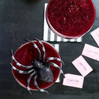 Bloody Halloween Wine Cocktail