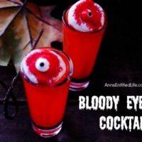 Bloody Eyeball Cocktail Recipe
