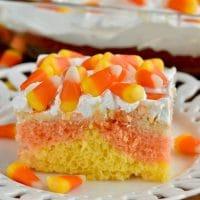 Candy Corn Poke Cake Recipe: A Halloween Treat