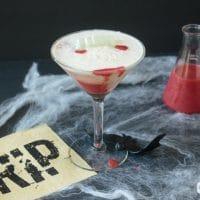 Vampire's Kiss Halloween Cocktails