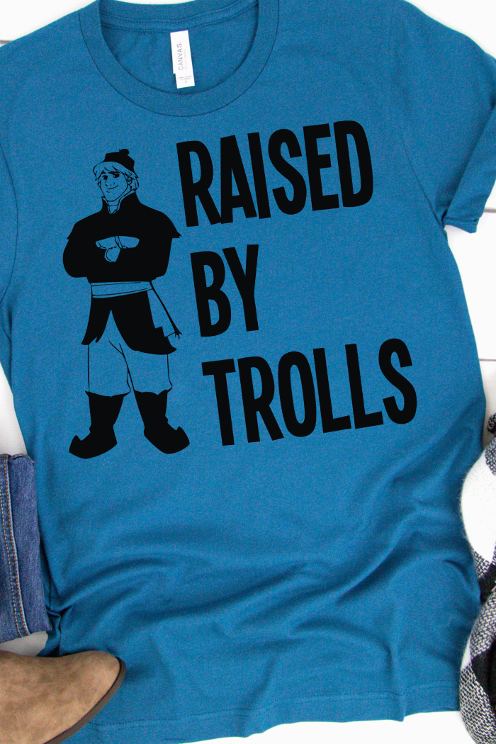 Raised By Trolls Frozen shirt featuring Kristoff