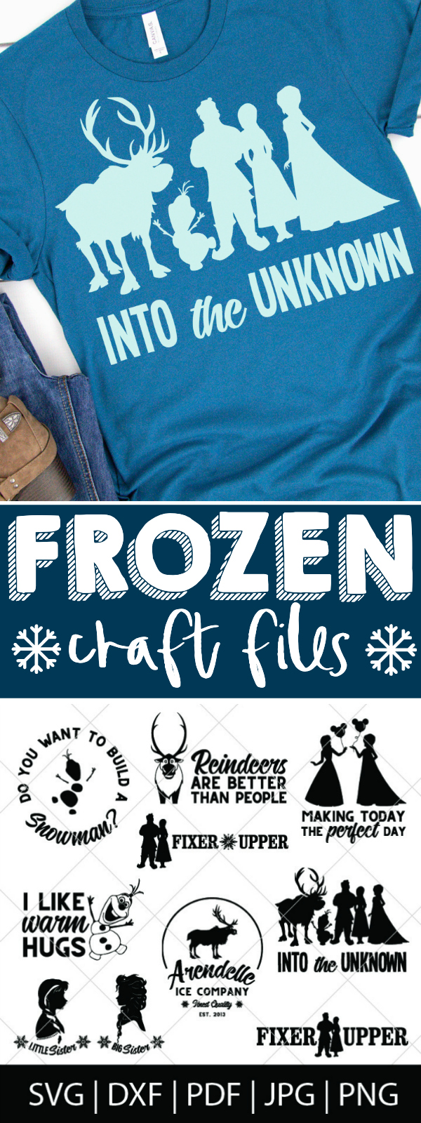 Do you want to build a snowman?! Our favorite snowman Olaf is back with Anna, Elsa, Kristoff and Sven for Frozen 2! Which means we needed to add new designs to the shop! Introducing our Frozen SVG Bundles, including Raised by Trolls, I like Warm Hugs, and Reindeers are Better than People! Plus, Disney World Group Shirt Designs! | The Love Nerds #Disneycricut #diychristmas #disneysvg #disneyshirt